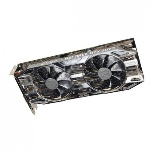 EVGA NVIDIA GeForce RTX 2070 8GB BLACK GAMING Graphics Card