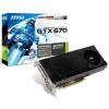 MSI GeForce GTX 670 OC 2048MB GDDR5 Graphics Card + £10 CASHBACK!
