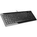 Xebec XEK-201W Stream Line Black Keyboard