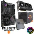 ASUS ROG STRIX B450-F GAMING + AMD 2600 CPU + ASUS GTX 1060 STRIX 6GB Super Bundle + FREE COD:BO4