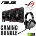 ASUS NVIDIA GeForce RTX 2080 Ti 11GB ROG STRIX OC GAMING Turing Graphics Card + ASUS ROG Delta Core Wired PC/Console Gaming Headset