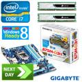 Gladiator Intel i7-3770 Ivy Bridge Quad-Core Next Day Bundle