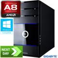 Gladiator AMD A8-5600K Quad-Core Next Day Desktop PC
