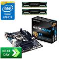 Intel Core i5-4430 - 8GB DDR3 - Intel H81 Next Day Motherboard Bundle