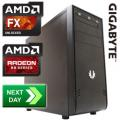 GLADIATOR R9-270 AMD FX-4350 4.20GHz Quad Core Next Day Gaming PC