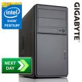 GLADIATOR Intel Pentium G3240 3.10 GHz Dual-Core Next-Day Desktop PC