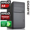 GLADIATOR AMD A4-4000 3.00 GHz Richland Dual-Core Next Day Desktop PC
