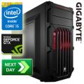 GLADIATOR Intel Devil's Canyon 4690K 3.50GHz Quad Core GTX760 Next-Day Gaming PC
