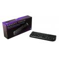 ARIAnet Touch 2.4GHz Ultra Mini HTPC Backlit Wireless Keyboard with Touchpad