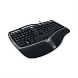 Microsoft,Natural,Ergonomic,Keyboard,4000,Multimedia,Keys,PC/MAC