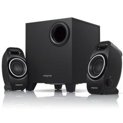 CREATIVE,A250,-,2.1,Compact,Speaker,System,with,Sub,Woofer,