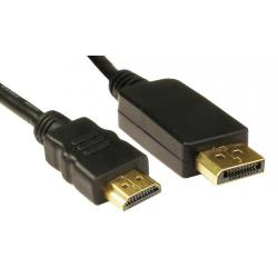 3mtr,Display,port,M,-,HDMI,M,Adaptor,cable,