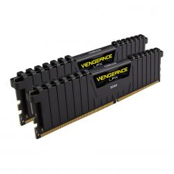 8GB,(2x4GB),2133MHz,Corsair,Vengeance,LPX,DDR4,Memory,-,Black,