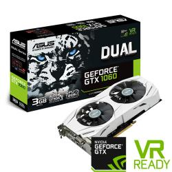 ASUS,GeForce,GTX,1060,DUAL,3GB,Graphics,Card,