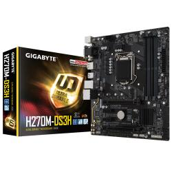 Gigabyte,H270M-DS3H,Intel,Kaby,Lake,MATX,Motherboard,