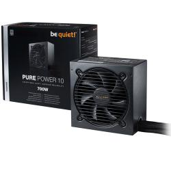 be,quiet,700,Watt,Pure,Power,10,Silver,PSU/Power,Supply,
