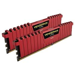 16GB,(2x8GB),3000MHz,Corsair,Vengeance,LPX,DDR4,Red,Memory,