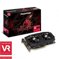 PowerColor,AMD,Radeon,RX,580,8GB,Red,Dragon,V2,2018,Update,Graphics,Card