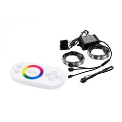 Deepcool RGB Magnetic LED Light Strips (2x50cm) with Remote