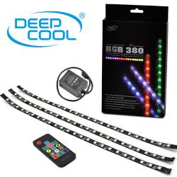Deepcool rgb 380 magnetic led light strips remote asus aura sync deepcool rgb 380 magnetic led light strips remote asus aura sync compatible aloadofball
