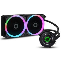 Game,Max,Iceberg,240mm,AIO,Liquid,Cooler,w/,7,Colour,PWM,Fans,