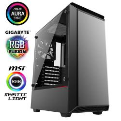 Phanteks,Eclipse,P300,Glass,Midi,Tower,Case,-,Black,