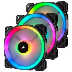 Corsair,LL120,RGB,120mm,Dual,Light,Loop,3,Fan,+,Lighting,Node,PRO,Pack,