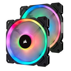 Corsair,LL140,RGB,140mm,Dual,Light,Loop,2,Fan,+,Lighting,Node,PRO,Pack,