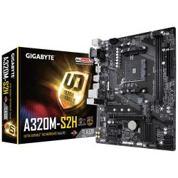 GIGABYTE,A320M-S2H,-,DDR4,Micro,ATX,Motherboard,
