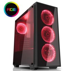Game,Max,Draco,RGB,Tempered,Glass,Mid,Tower,Case,