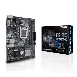 ASUS,PRIME,H310M-K,-,Intel,Coffee,Lake,DDR4,MATX,Motherboard,