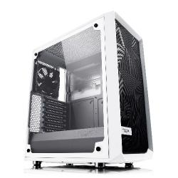 Fractal,Design,Meshify,C,White,Tempered,Glass,Mid,Tower,PC,Gaming,Case,
