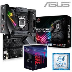 Intel,i7,8700,Coffee,Lake,6,Core,CPU,+,ASUS,ROG,STRIX,B360-F,GAMING,Motherboard,