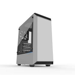 PHANTEKS,Eclipse,P300,Tempered,Glass,Midi,Tower,Case,-,White,Edition,