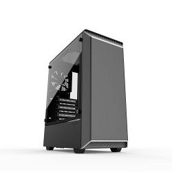 PHANTEKS,Eclipse,P300,Tempered,Glass,Midi,Tower,Case,-,Black/White,Edition,