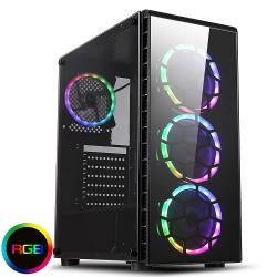 CiT,Raider,Glass,Front,and,Side,Gaming,Case,