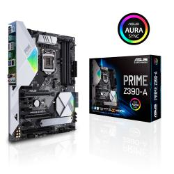 ASUS,PRIME,Z390-A,-,Intel,DDR4,ATX,Motherboard,