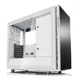 Fractal,Define,R6,White,Tempered,Glass,USB-C,Midi,PC,Gaming,Case