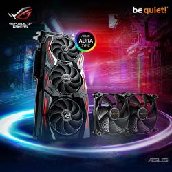 ASUS,NVIDIA®,GeForce,RTX™,2060,ROG,STRIX,ADVANCED,-,6GB,GDDR6,VR,Ready,Graphics,Card,+,2,x,be,quiet!,fans!,