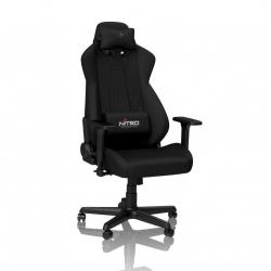 Nitro,Concepts,S300,Fabric,Gaming,Chair,-,Stealth,Black