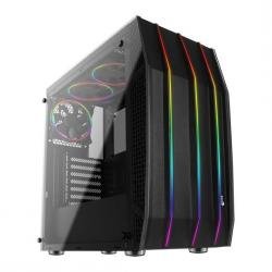 Aerocool,Klaw,Tempered,Glass,RGB,Midi,PC,Gaming,Case,