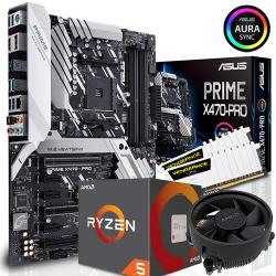 ASUS,X470-PRO,+,AMD,RYZEN,5,2600,CPU,+,16GB,DDR4,3000MHz,,Bundle,