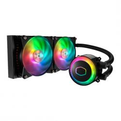 CoolerMaster,MasterLiquid,ML240R,RGB,All,In,One,Liquid,Cooler