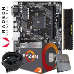 RYZEN 2200G - AMD BUDGET BUNDLE - Aria PC