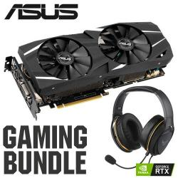 ASUS,NVIDIA®,GeForce,RTX™,2060,DUAL,OC,-,6GB,Graphics,Card,+,TUF,Gaming,H5,Lite,Gaming,Headset,+,RTX,BUNDLE,
