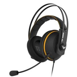 Asus,TUF,Gaming,H7,Core,Gaming,Headset,53mm,Driver,3.5mm,Jack,Boom,Mic,Stainless-Steel,Yellow