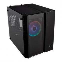 Corsair,Crystal,Black,280X,RGB,Glass,Micro,ATX,PC,Gaming,Case,