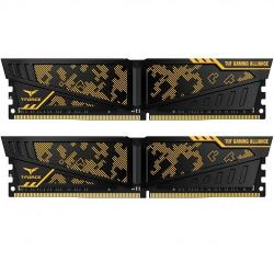 16GB,(2x8GB),TEAM,Vulcan,ASUS,TUF,Gaming,Alliance,DDR4,PC4-28800C19,3600MHz,Dual,Channel,Kit,-,Black,