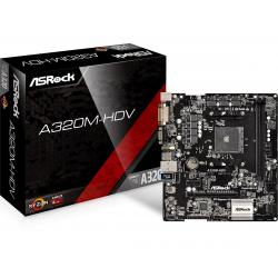 ASRock,A320M-HDV,AMD,Socket,AM4,Motherboard,