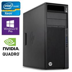 HP,Z440,-,Intel,2.8GHz,Quad,Core,Refurb,Workstation,w/,Quadro,K4200,+,32GB,DDR4,+,2x,256GB,SSD